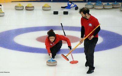 Este viernes comienza en Jaca el Campeonato de España Dobles Mixto de Curling