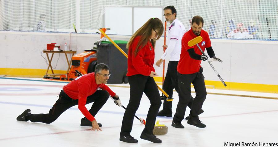 Segunda fase de la Liga Norte/Sur de Curling que decidirá el campeón