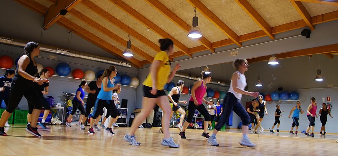 Actividades fitness en el SMD Jaca