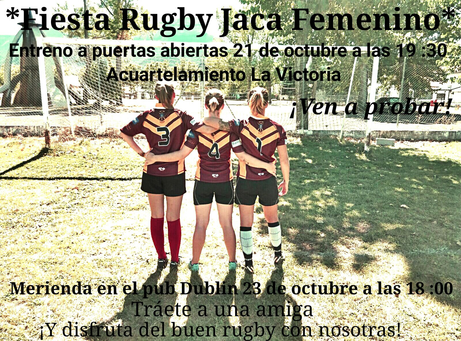 Fiesta Rugby Jaca femenino