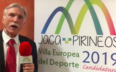 Apoyo a la Candidatura de Jaca a Villa Europea del Deporte 2019