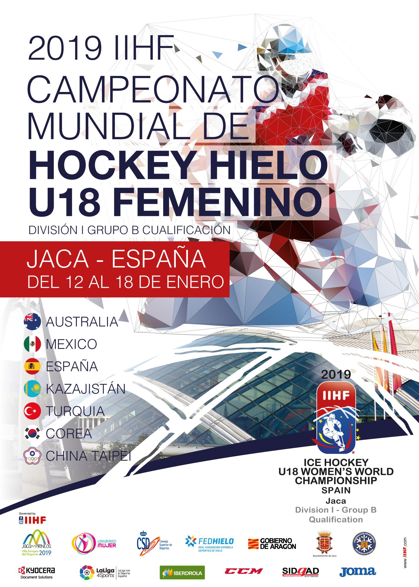Campeonato Mundial de Hockey Hielo Femenino U18 Div 1 Grupo B Cualificación