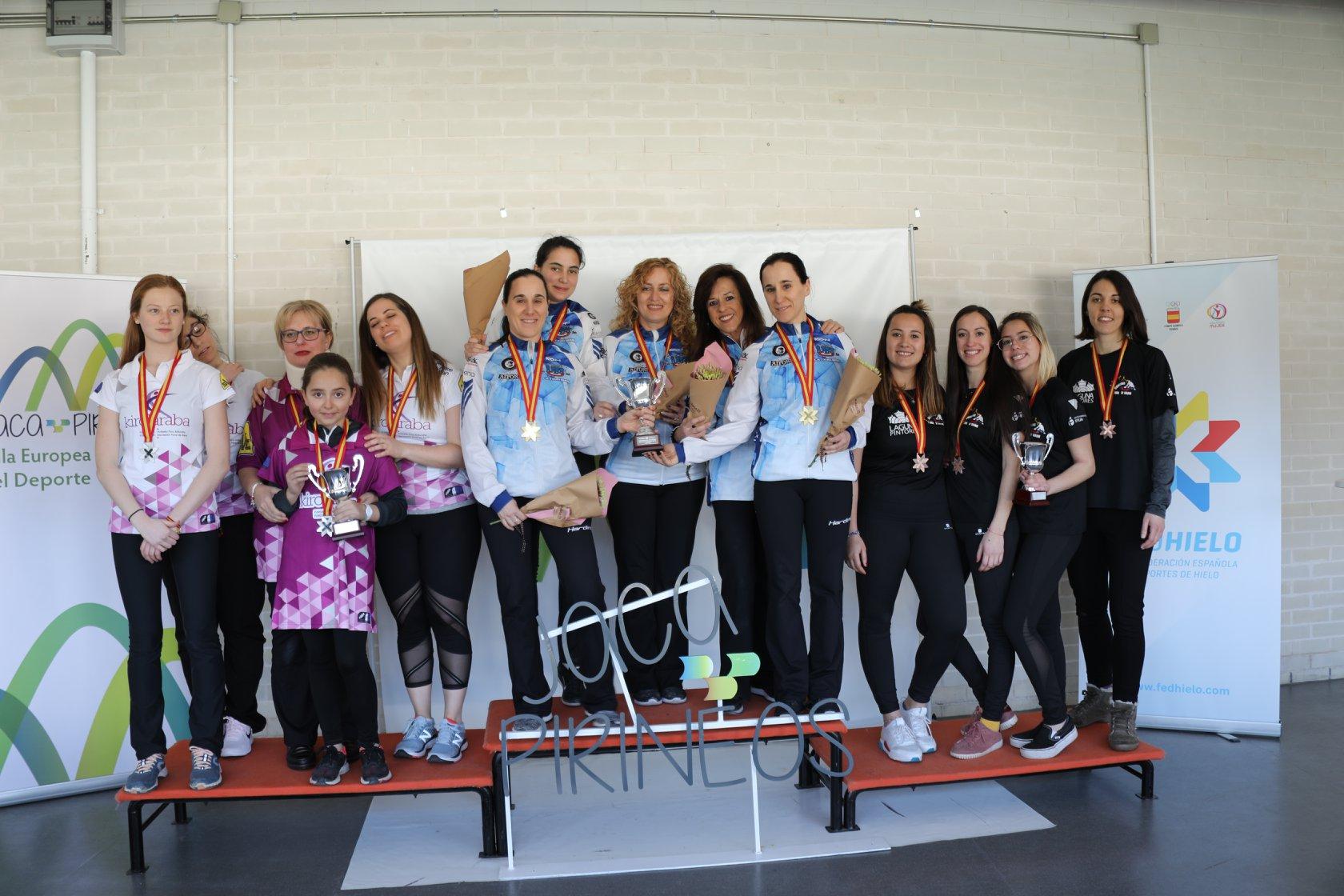 El club donostiarra se lleva el campeonato tanto en categoría masculina como en femenina mientrasSCV Iparpolo y Val d'Aran consiguen la plata y el bronce