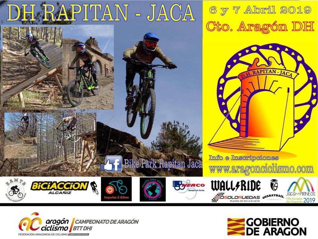 Vuelve el DH Rapitan a Jaca Con un circuito renovado y sorpresas de última hora de cara a la carrera, el próximo fin de semana tendremos prueba de descenso en el circuito de Rapitán.