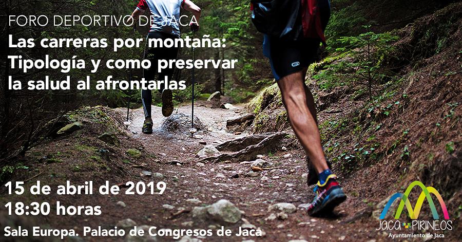 Las carreras por montaña, protagonistas del Foro deportivo de Jaca