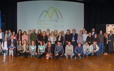 Reconocimiento a los deportistas jaqueses en la Gala del Deporte 2019
