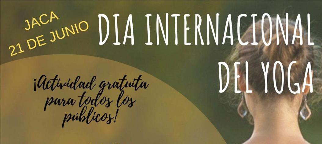 Día internacional del Yoga en Jaca