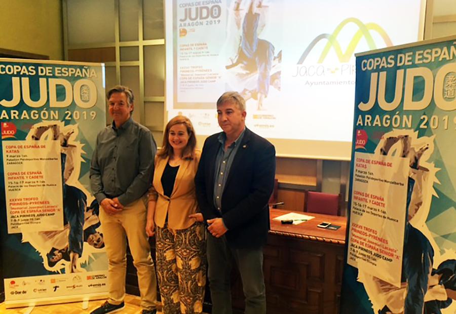 500 participantes se darán cita en el Trofeo Pirineos de Judo, Campeonato de España 2019