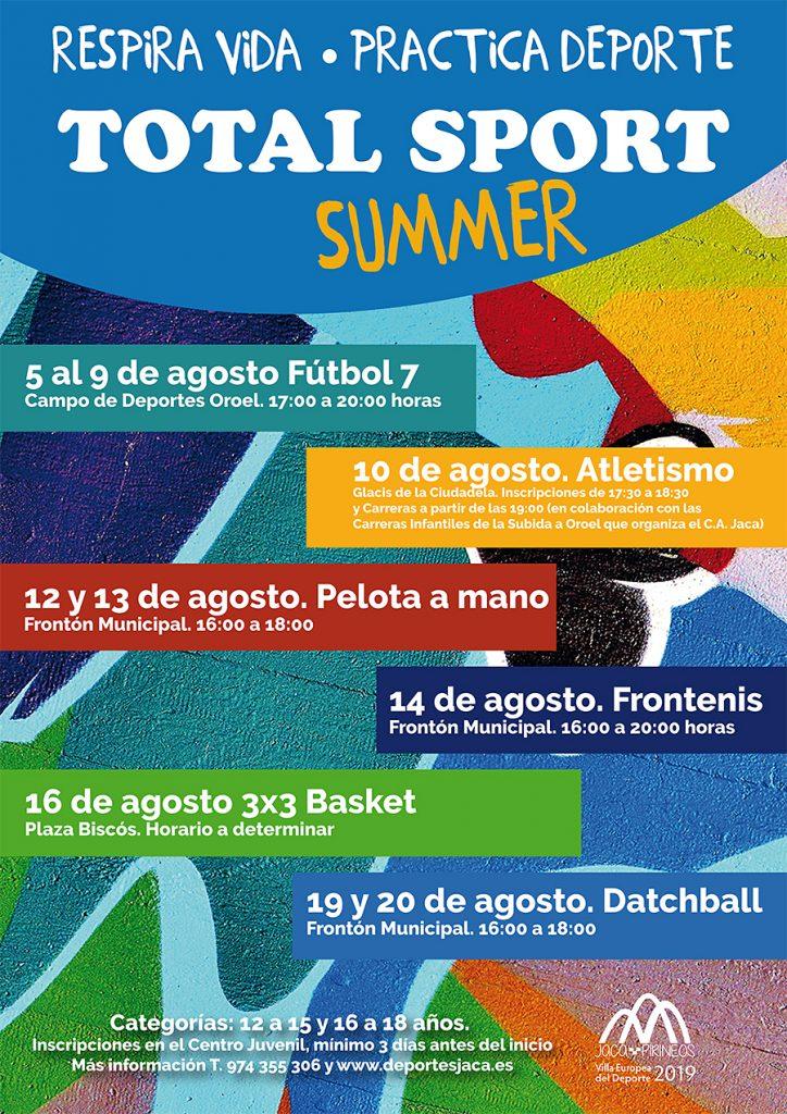 TOTAL SPORT SUMMER Respira vida - practica deporte
