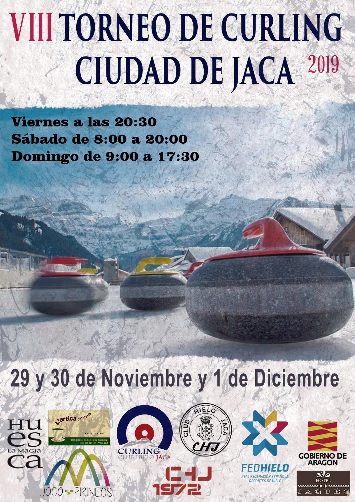 Curling en Jaca