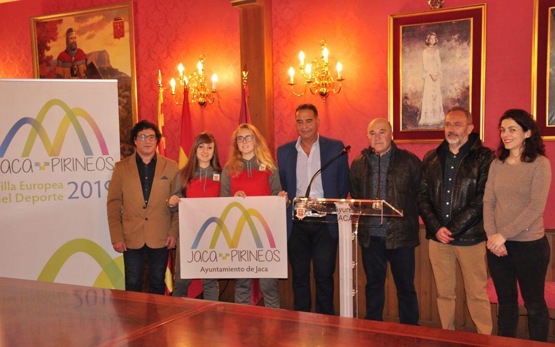 Reconocimiento a las deportistas jacetanas que viajarán a Lausanne 2020