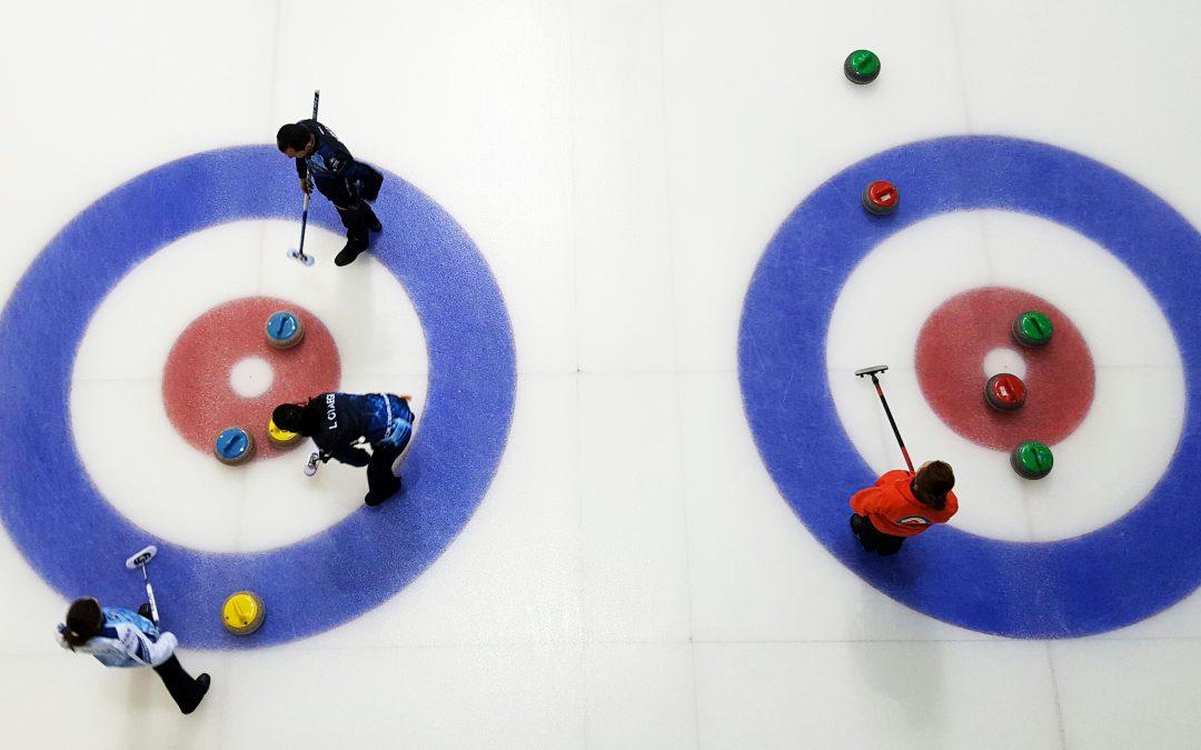 Siguen las competiciones de curling en Jaca
