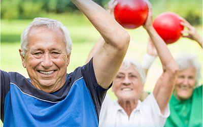 Vuelve el mantenimiento físico al aire libre para personas adultas y mayores