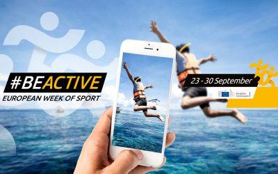 Semana Europea del Deporte 2020: #BeActive, BeSafe