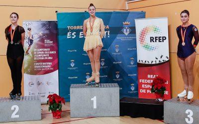 Camila Yepes, Campeona de España Júnior de Patinaje Artístico en Línea