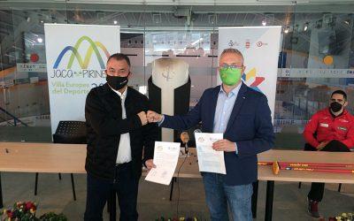 La RFEDH y el Ayuntamiento de Jaca firman un convenio para la promoción de los deportes de hielo