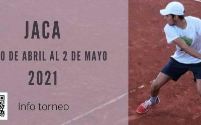Jaca se convertirá en la capital del tenis aragonés en abril
