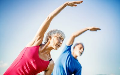 Mantenimiento físico al aire libre para personas adultas y mayores