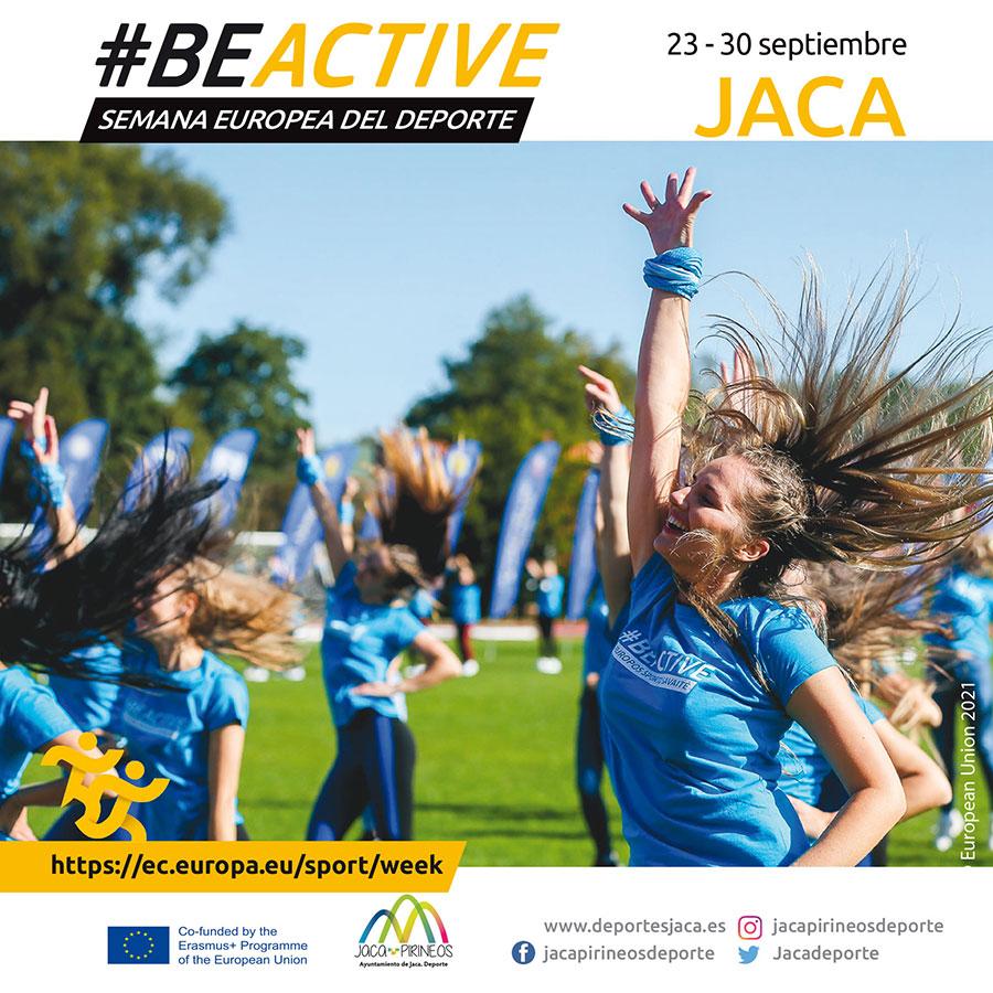 Semana Europea del Deporte del 23 al 30 de septiembre